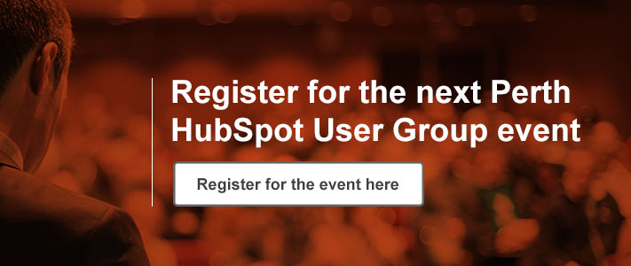 Register For Perth HubSpot Event