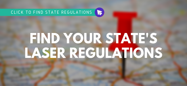 Click to find your State's Laser Regulations