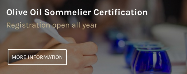 Olive Oil Sommelier Certification