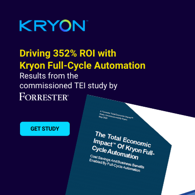 Forrester TEI of Kryon Full-Cycle Automation