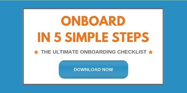 Onboard in 5 Simple Steps CTA