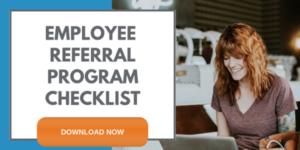 Employee referral program checklist cta