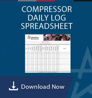 Compressor Daily Log Spreadsheet