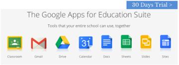Coba Google Apps for Education untuk 30 hari >