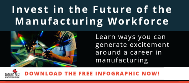How to Invest in the Future of Manufacturing Infographic
