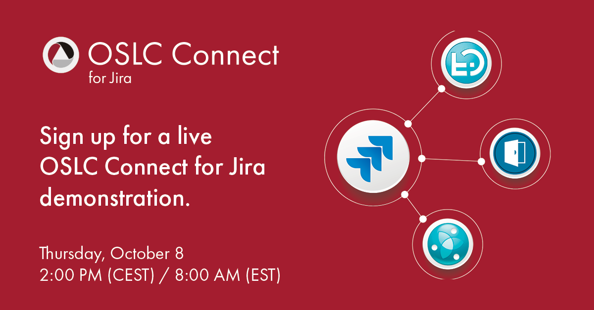 Sign up for a live OSLC Connect for Jira demonstration