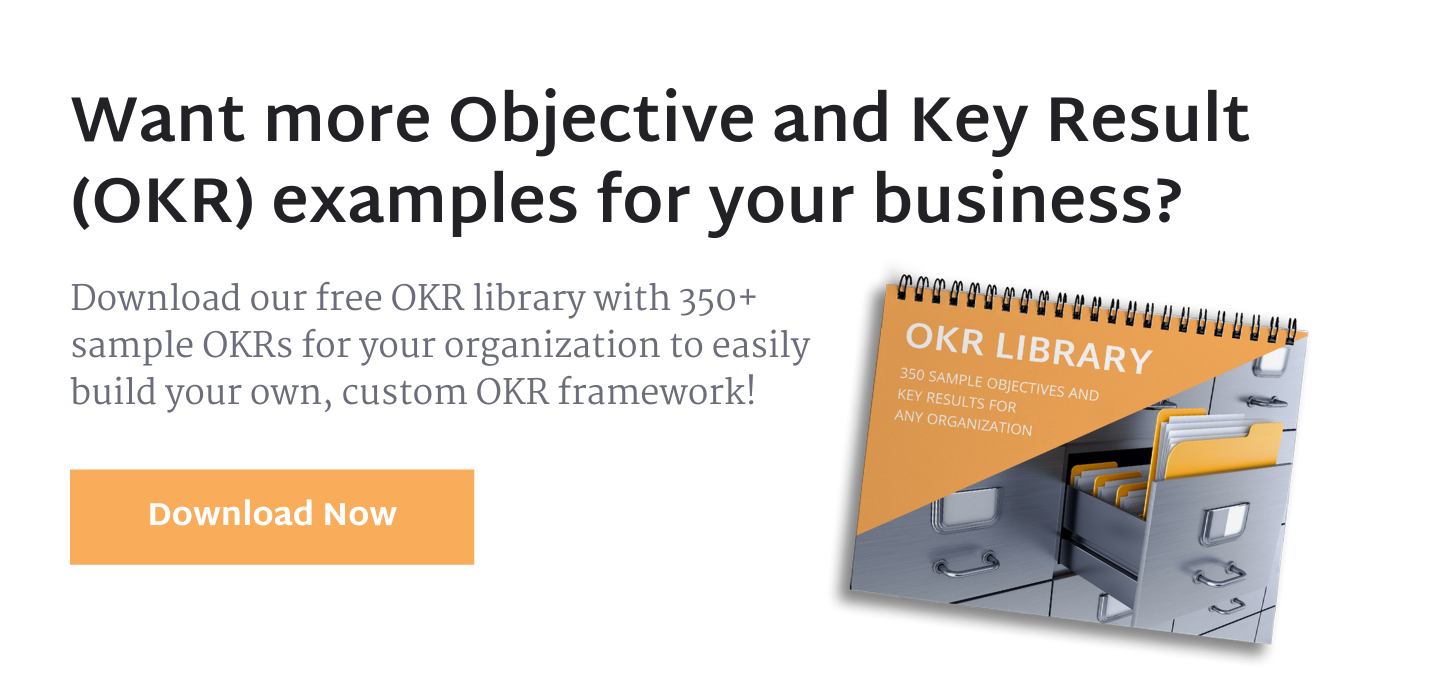 OKRs: An Opinionated Guide To Driving Performance