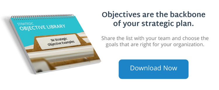 56 Strategic Objective Examples For Your Company To Copy