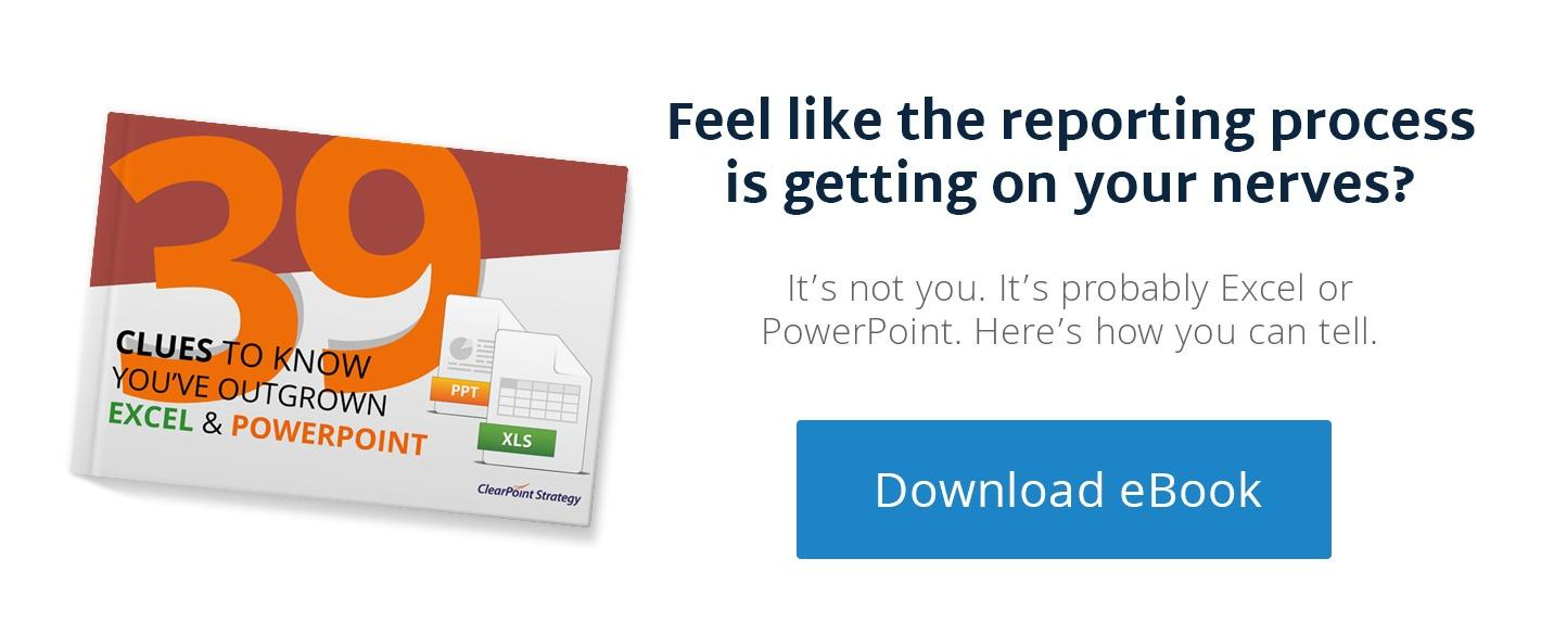 Download: 39 Clues To Know You've Outgrown Excel and Powerpoint For Reporting
