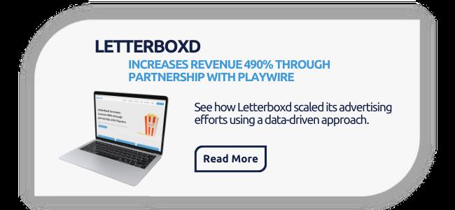 Letterboxd | Ad Monetization Case Study