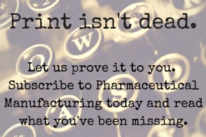 subscribe to pharma mfg