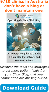 Clinic blog that converts patients
