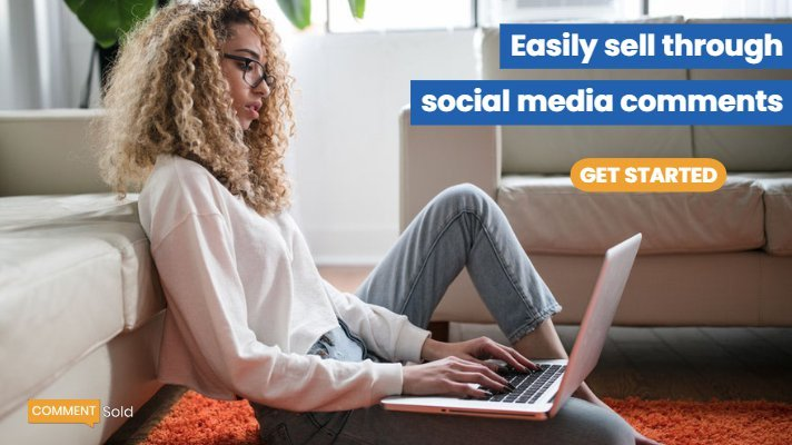 Easily sell through social media with CommentSold