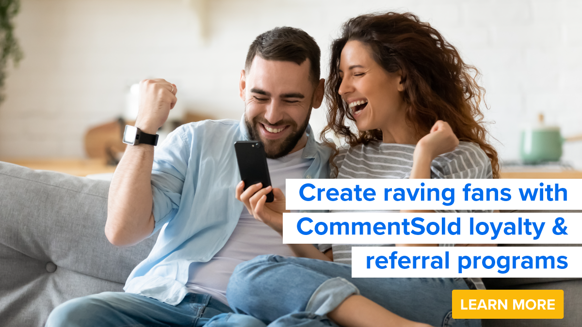 Create raving fans with CommentSold loyalty & referral programs