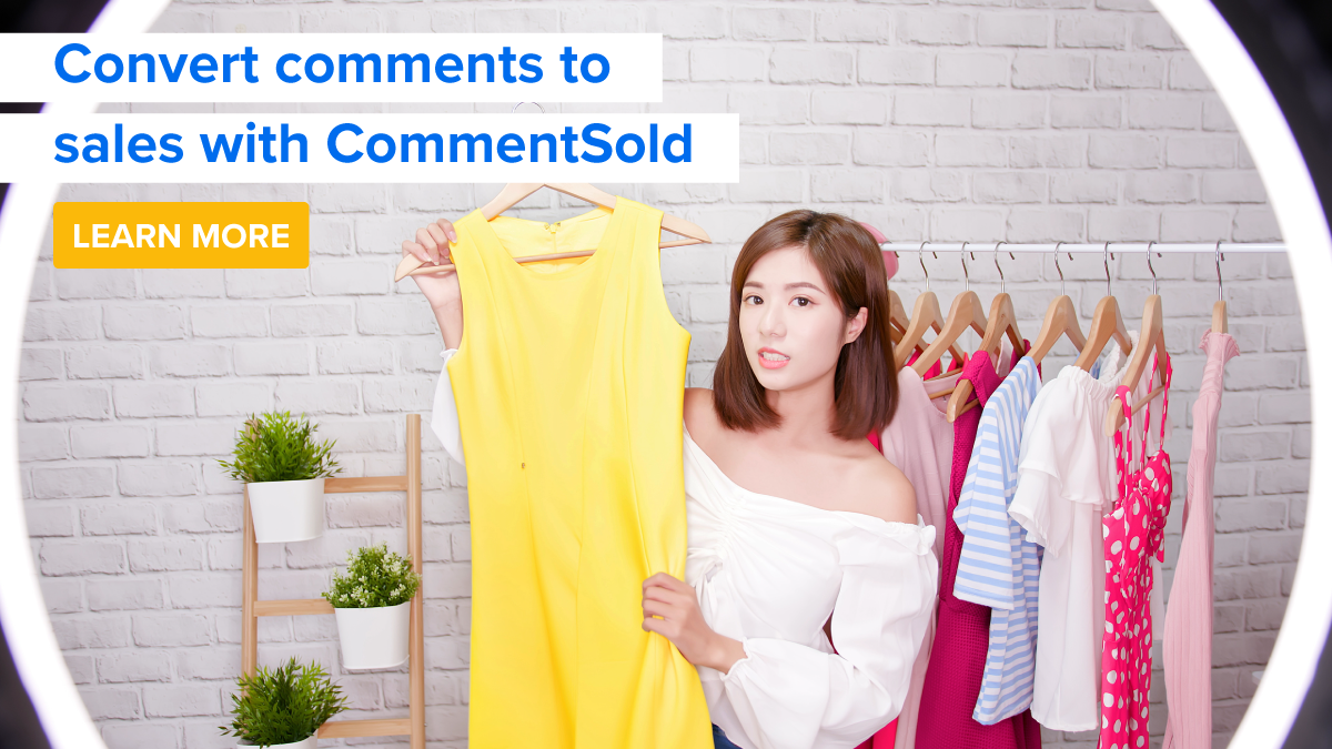 Convert comments to sales with CommentSold.
