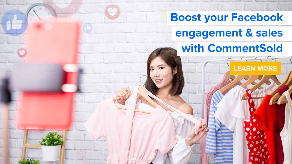 Boost your Facebook engagement & sales with CommentSold