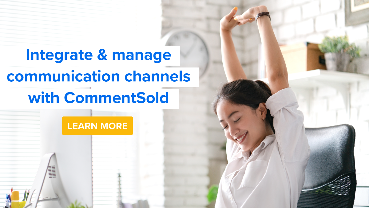 Integrate & manage communication channels with CommentSold
