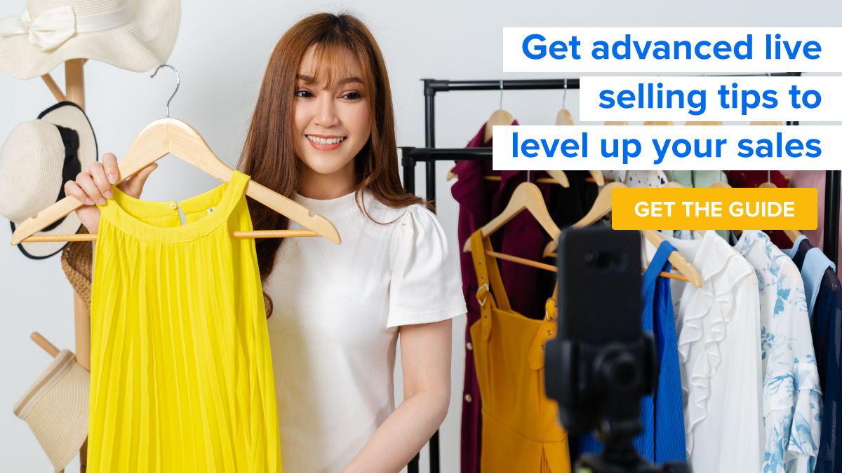 Get advanced live selling tips to level up your sales