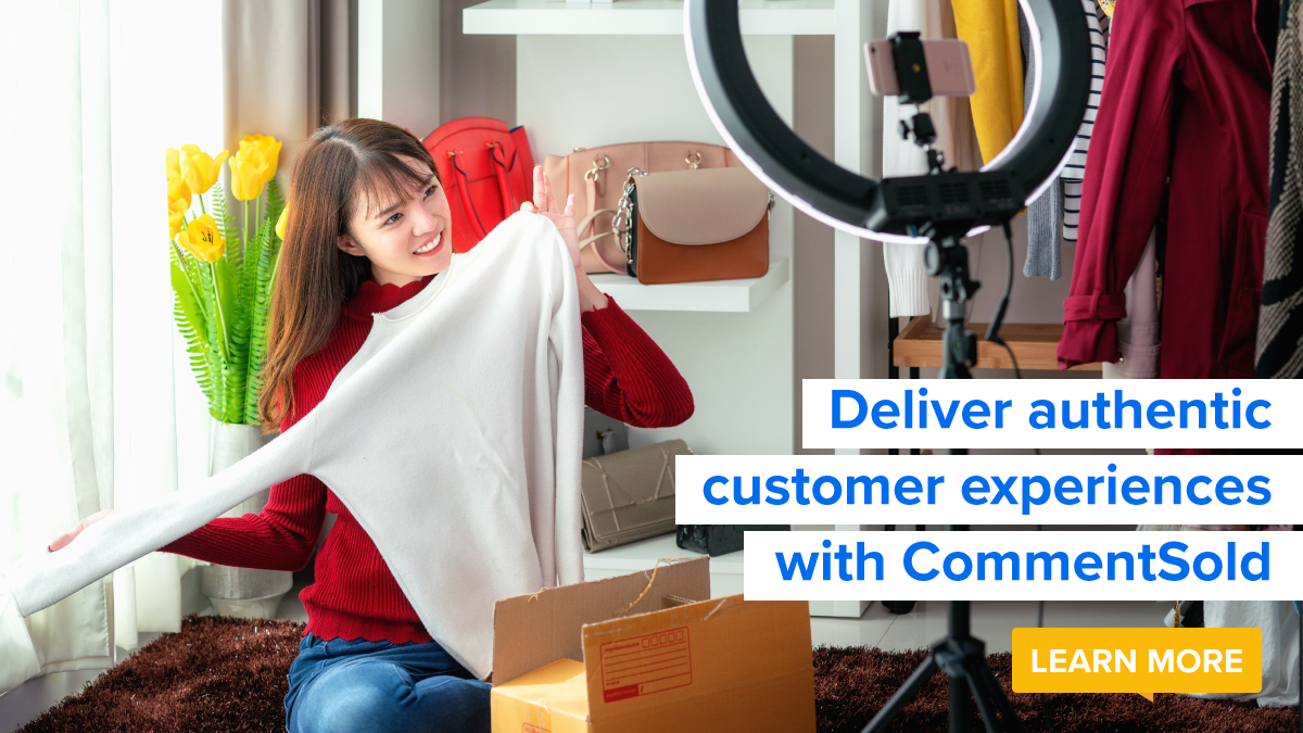 Deliver authentic customer experiences with CommentSold