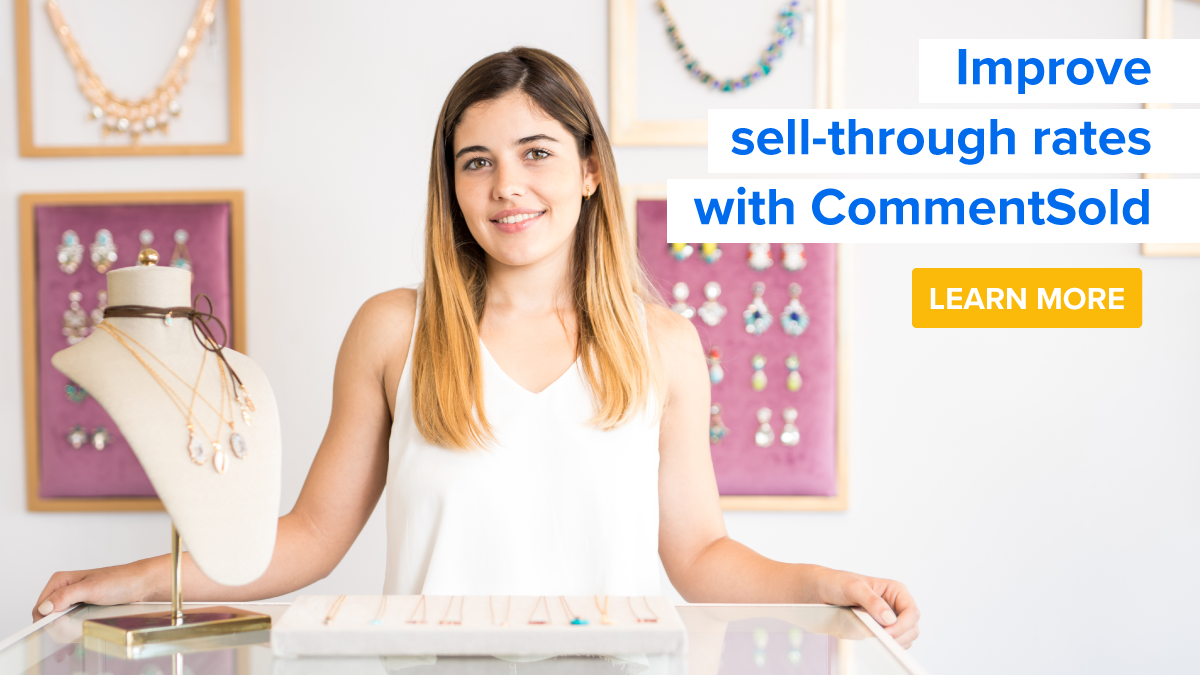 Improve sell-through rates with CommentSold.