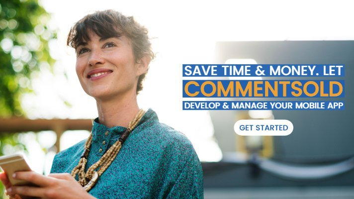 Save time & money. Let CommentSold develop & manage your mobile app