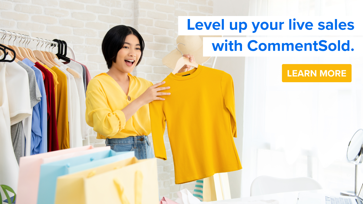 Level up your live sales with CommentSold
