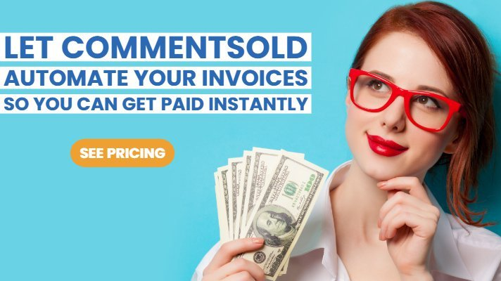 Let CommentSold automate your invoices so you can get paid instantly