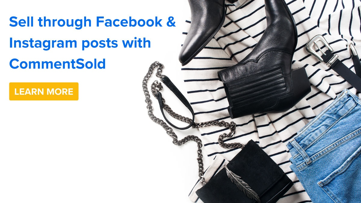 Sell through FB & IG posts with CS