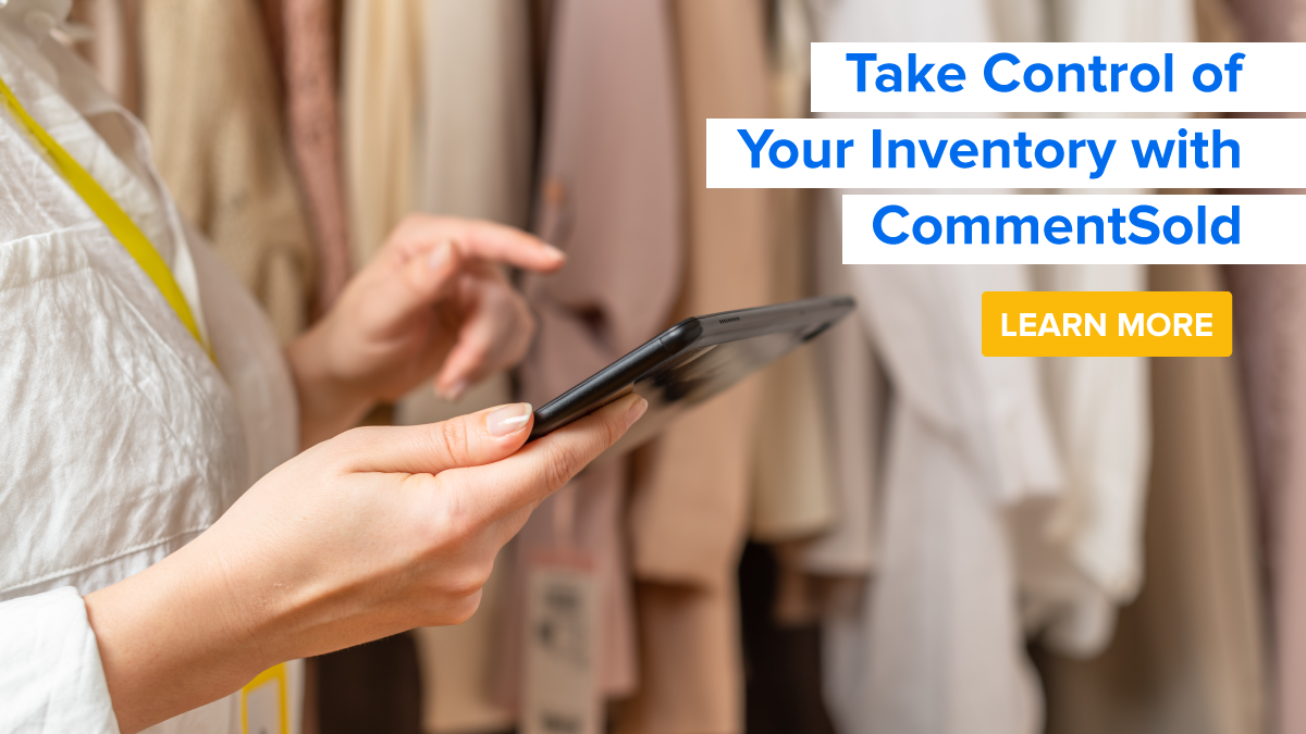 Take Control of Your Inventory with CommentSold