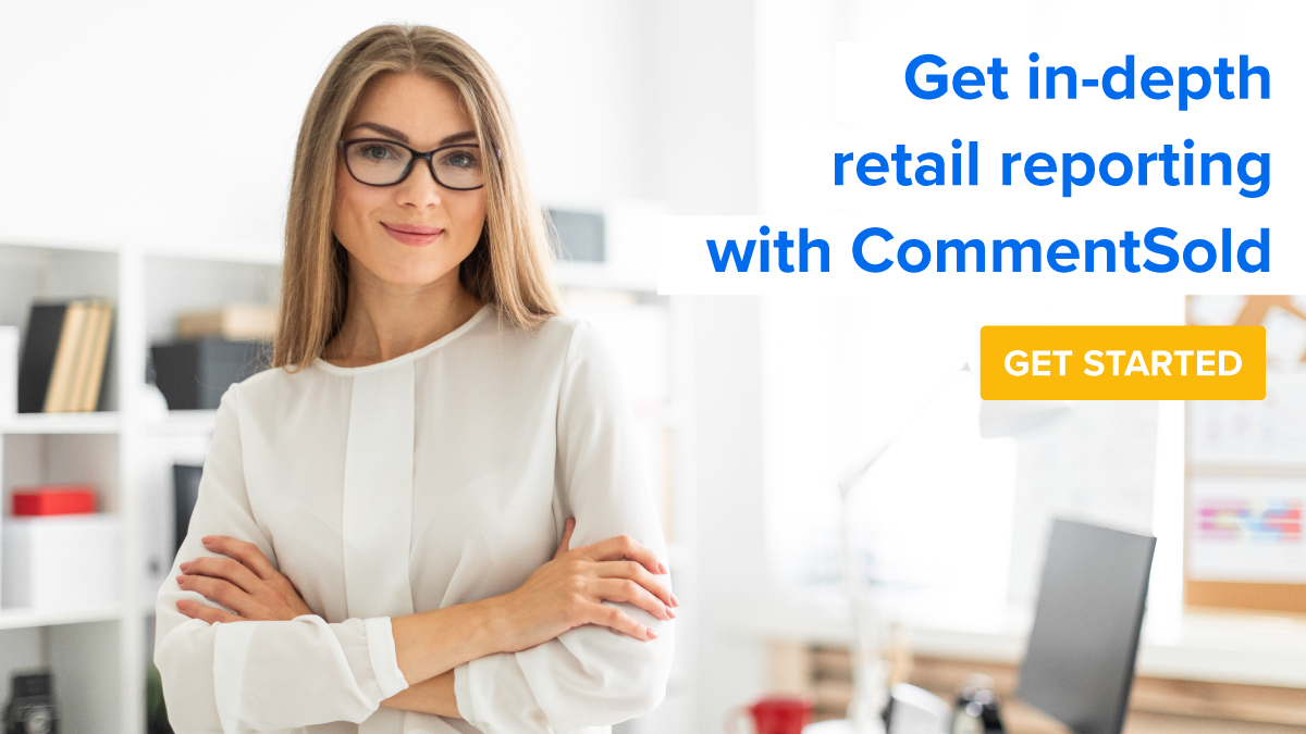 Get in-depth retail reporting with CommentSold.