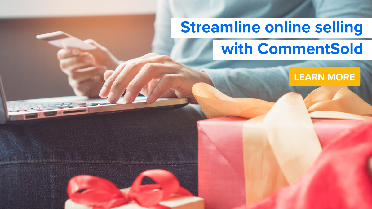 Streamline online selling with CommentSold