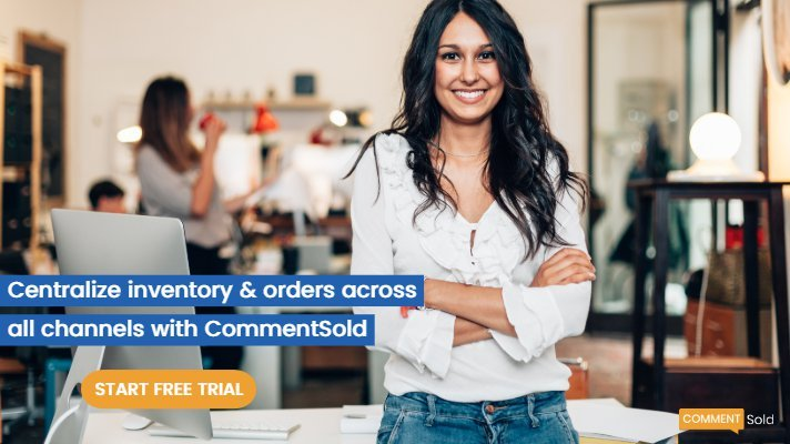 Online retailers can centralize inventory across all their selling channels with CommentSold