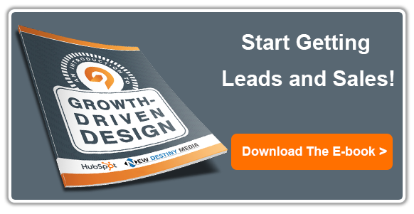 Get a free Growth-Driven Design Analysis