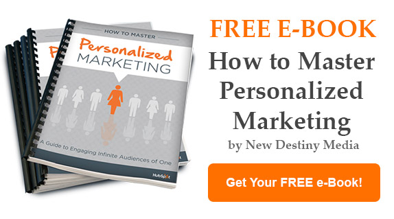 Download our Personaliztion Guide E-Book from New Destiny Media