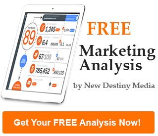 Get a free marketing analysis of your website against your competitors' websites!