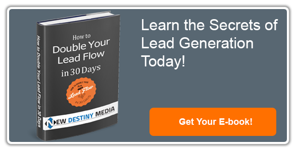 """Double your lead generation in 30 days"" e-book"