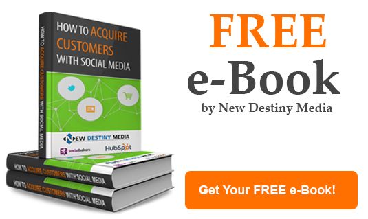 Download Our FREE 30 PAGE E-book on How to Acquire Customers on Social Media