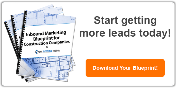 Free e-book: Inboudn Marketing for Blueprint for Construction Companies