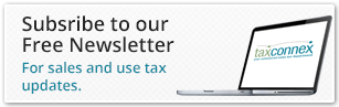 Sign up for the sales and use tax newsletter from TaxConnex