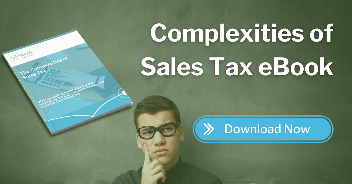 complexities of sales tax eBook