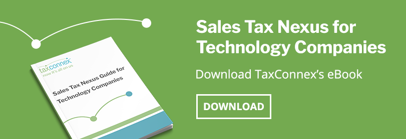 sales tax nexus for technology companies