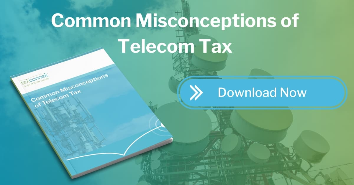 misconceptions about telecom tax