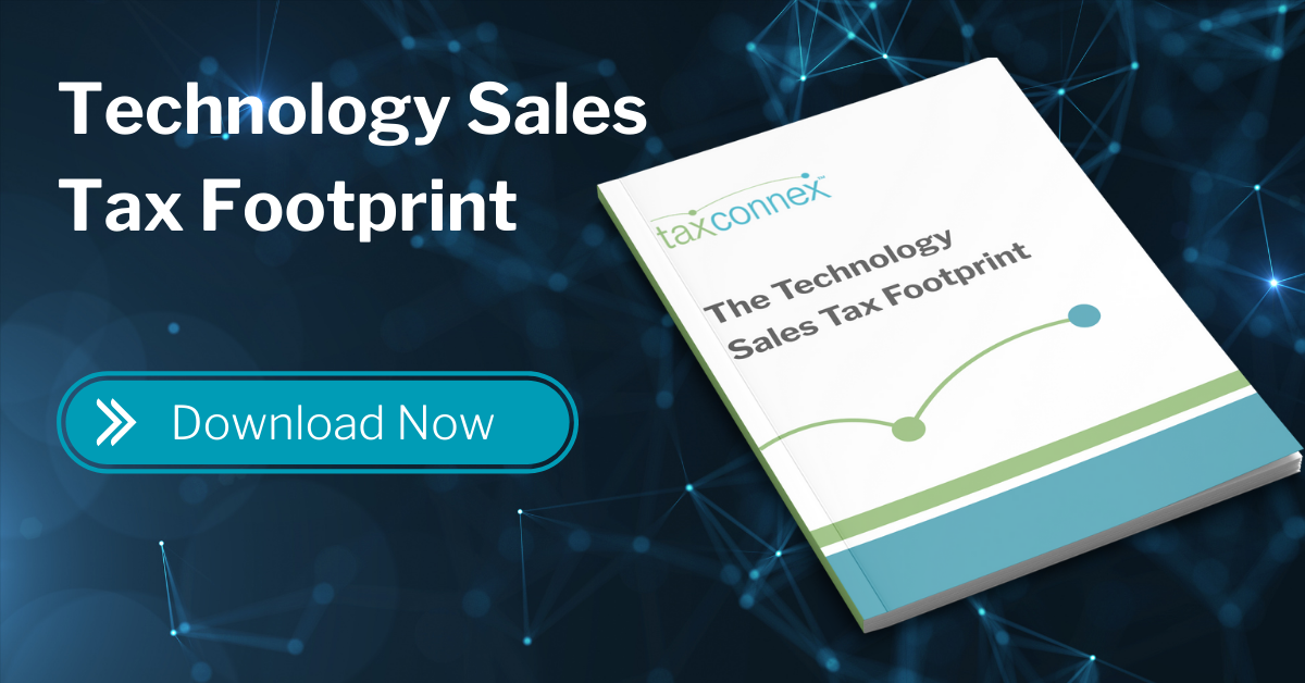 Technology Sales Tax Footprint eBook - CTA