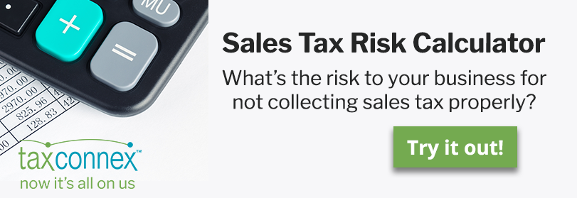 sales tax risk calculator