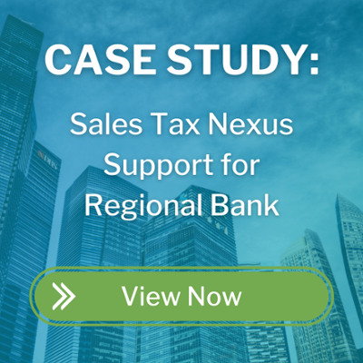 sales tax nexus support for regional bank - cta button