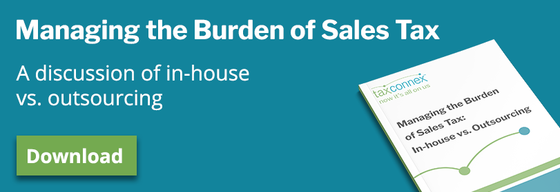 Managing the burden of sales tax - ebook CTA