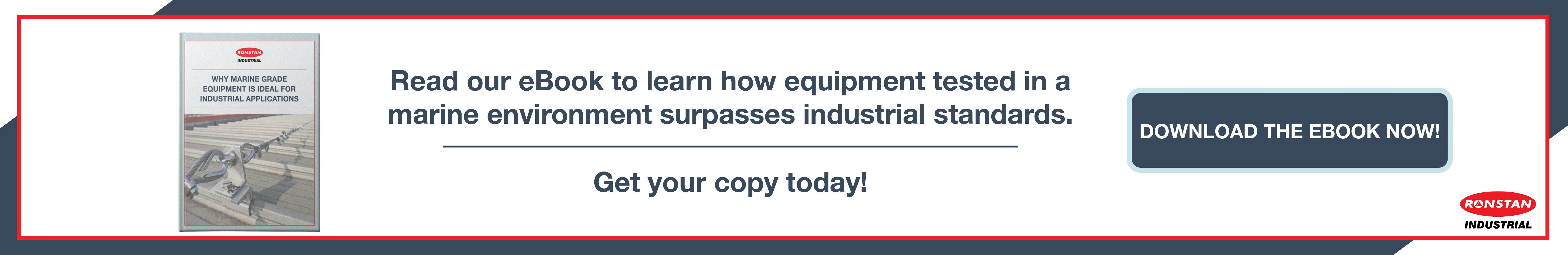 Why Marine Grade Equipment is Ideal for Industrial Application