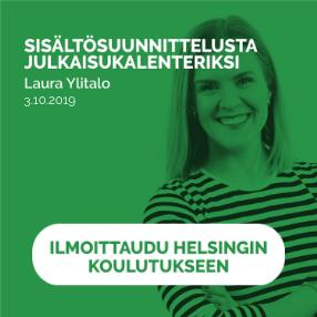 Sisältösuunnittelusta julkaisukalenteriksi Helsinki