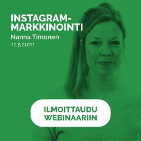 Instagram-markkinoinnin webinaari