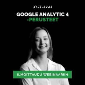 Google Analytics 4 webinaari